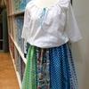 スモック & USAコットンのギャザースカート