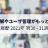 用語理解やユーザ管理がもっと容易に - 隔週報 2021-W30/31