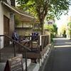 野川沿いのおしゃれなカフェ