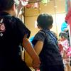 息子 保育園での3回目の夏祭り