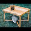 Tivoli WoodWorksのヘリンボーンボードテーブルをゲット!精度の高さと木のぬくもりに感動した話。