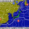 25日~26日にかけて南岸低気圧が通過予想!東京では雪が降るのか!?