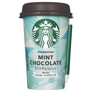 ミントチョコレート WITH チョコレートプディングが新登場!