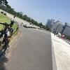 【ロードバイク】灼熱の都心練: 50km