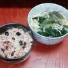活酵素味噌汁165日目 夕食