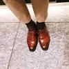 本日の革靴 エドワードグリーン サウスウォールド