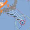 台風12号、異例の西進コースで接近へ