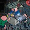 台南:新美街の壁画、いいんじゃないでしょうか