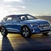 ● Audi e-tronがついにベールを脱いだ!アウディ初の電気自動車SUVが世界初公開