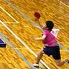 決勝8リーグを見に来てます。全日本卓球卓球選手権ジュニアの部 三重県予選