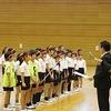 東海市小学校ドッジボール大会⑨ 閉会式 表彰~みんなに金メダル