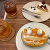 おやつcafe HOLIC(谷町四丁目)🍰 まんまメロン/アメリカンチェリーのタルト/レアチーズケーキ