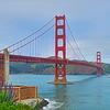 【サンフランシスコ観光】ゴールデンゲートブリッジ、アラモスクエア、ロンバートストリート、ユニオンスクエアetc有名な場所ばかりです☆