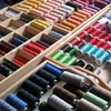 刺繍ミシン。2
