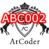 AtCoderの過去問に挑戦 ABC002 AtCoder Beginner Contest 002