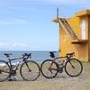 【ロードバイク】初秋の日本海ライドで寺泊〜角田浜、パン・カニ・心霊スポット