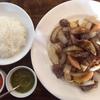 渋谷のペルー料理屋さんミラフローレスのロモサルタードを食べたよ