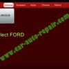X431フォードフォーカスTCM適応学習、クラッチの学習を起動します