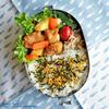 #562 揚げ鶏とサツマイモの甘辛弁当