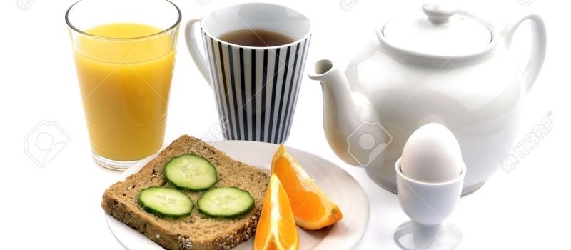 朝食は、あまり食べない。