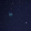 亜鈴星雲(M27)を撮影しました。