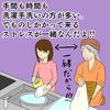 シュフを人力食洗機と思っている人は今すぐタダ働きをすると良い。それが嫌なら今すぐ食洗機を買うべし。