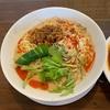 らーめん幸 @新潟市東区 (期間限定)冷やし坦々麺&マーボー飯セット