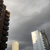 今日の大阪/土佐堀通御堂東入の空  Today's sky of Tosabori Street & Midousuji Avenue crossroad into east, OSAKA  Date: Feb. 02, 2017
