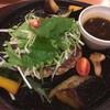 きのこと香味野菜の生姜醤油ハンバーグ  899円(税込988円)  448kcal/食塩相当量2.9g  ... at デニーズ_北池袋店