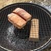 バラ肉燻製