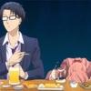 『 ヲタクに恋は難しい 』食事のクオリティ ・ アニメの食事