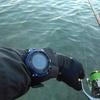 釣りに使っている スマートウォッチ
