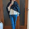 流行と年齢を問わずに1年じゅう着られる上質な服|SOÉJUのストールは普段着をリュクスにアップデート【PR】