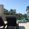 子連れハワイ旅行 ホテル ハイアットリージェンシー プールエリア④(0歳10ヶ月と2歳)