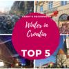 クロアチア*冬の観光 見どころ5選