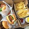 大阪梅田ランチ【SHAKE SHUCK】NY生まれのハンバーガー!