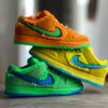 "【7月24日(金)発売】スニーカー抽選情報  ""GRATEFUL DEAD BEARS × NIKE SB DUNK LOW GREEN&YELLOW (CJ5378-300/CJ5378-700)"""