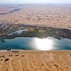 腾格里沙漠(トングリ砂漠)のオアシス「月亮湖」(4)アルシャー盟一周旅行