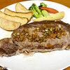 【デリバリー】ジョナサン ~牛フィレステーキ シャリアピンソース&ビーフリブロースステーキ 和風ビネガーソース~