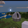 【Minecraft】円を使った建築に挑戦:天文台編【プレイ日記】