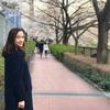目黒川の桜並木をお散歩しながら、イチゴのスパークリングで乾杯