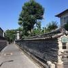 観音寺築地塀  台東区谷中