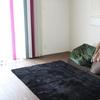 ソファーのない暮らしとおすすめのラグ  ルンバ&息子の最強タッグでサラサラ床