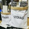 100均キャンドゥのペーパーストレージバッグでおしゃれに整理整頓!