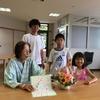 ばあちゃん75歳の誕生日をお祝い(^^♪