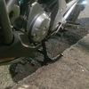 またまたまたまたまたバイク用品を買ってみた。 購入+工賃編:NC700Xに純正メインスタンドを装着してもらった。
