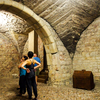 プラハ観光!旧市庁舎ツアーでオルロイ天文時計の裏側と地下通路を探検!