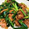 簡単【1食115円】鶏レバニラ炒めwithハツの作り方