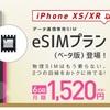 IIJmio、iPhoneで使える「eSIMプラン」を18日開始。月額1520円。物理カード不要なSIM、日本のMVNO初