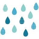 世界のどこかで雨が降る